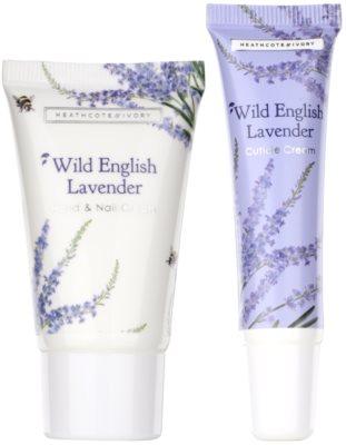 Heathcote & Ivory Wild English Levander Kosmetik-Set  V. 1