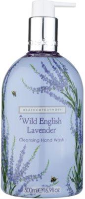 Heathcote & Ivory Wild English Levander Reinigungsseife für die Hände