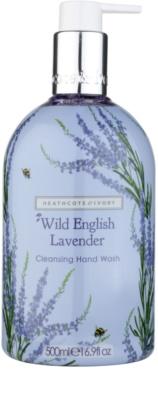 Heathcote & Ivory Wild English Levander sabonete de limpeza para mãos