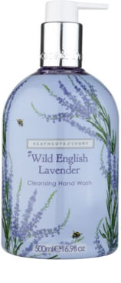 Heathcote & Ivory Wild English Levander sapun pentru curatare de maini