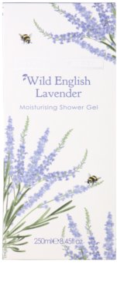 Heathcote & Ivory Wild English Levander tusfürdő gél hidratáló hatással 2