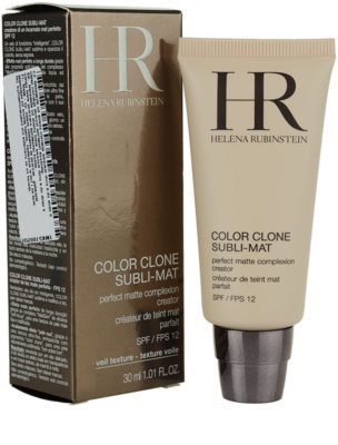 Helena Rubinstein Color Clone Subli-Mat matující make-up 1
