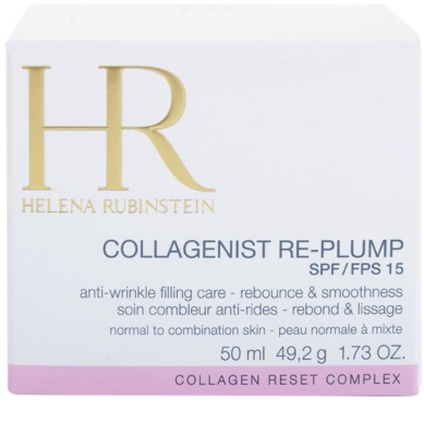 Helena Rubinstein Collagenist Re-Plump crema de día  antiarrugas  para pieles normales y mixtas 3