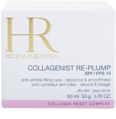 Helena Rubinstein Collagenist Re-Plump creme de dia antirrugas para pele seca 3