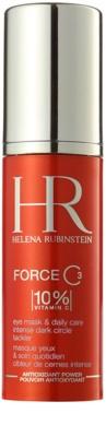 Helena Rubinstein Force C3 szem maszk a duzzanat és sötét karikák