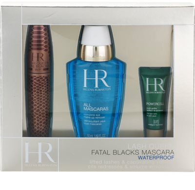 Helena Rubinstein Lash Queen Fatal Blacks Waterproof kozmetični set VI.