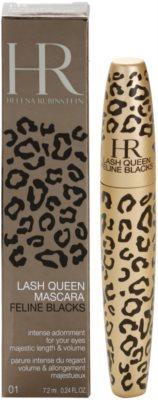 Helena Rubinstein Lash Queen Feline Blacks Volumenmascara mit Verlängerungseffekt und Wimperntrennung 3