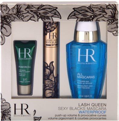 Helena Rubinstein Lash Queen Sexy Blacks Waterproof lote cosmético I.