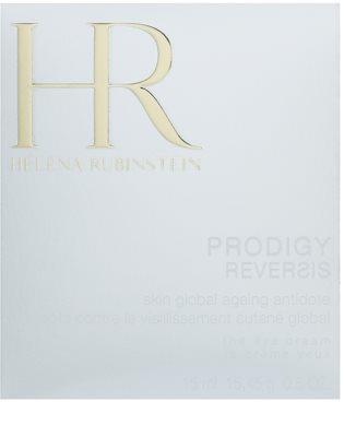 Helena Rubinstein Prodigy Reversis przeciwzmarszczkowy krem pod oczy  odżywienie i nawilżenie 2