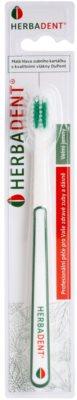 Herbadent Dental Care escova de dentes com cabeça curta extra suave