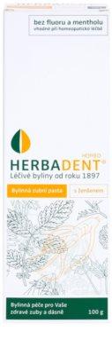 Herbadent Homeo pasta de dinti cu ginseng 2