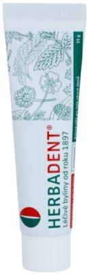 Herbadent Parodontol Gel pe bază de plante pentru gingii