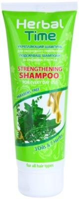 Herbal Time 3 Oils & 7 Herbs champô reforçador para uso diário