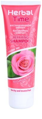 Herbal Time Bulgarian Rose champú con efecto regenerador