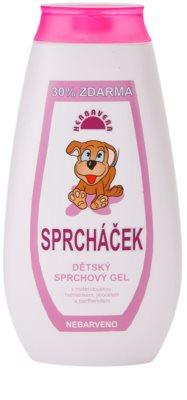 Herbavera Baby gel de duche para crianças