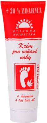Herbavera Body Foot Care creme perfumado para os pés