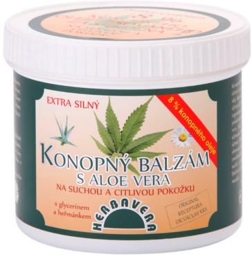 Herbavera Body balsam de canepa cu aloe vera
