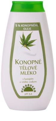 Herbavera Body молочко для тіла з конопляною олією