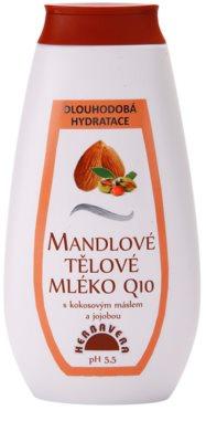 Herbavera Body nawilżające mleczko do ciała z olejkiem migdałowym