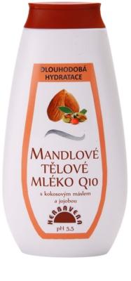 Herbavera Body зволожуюче молочко для тіла з мигдалевою олією