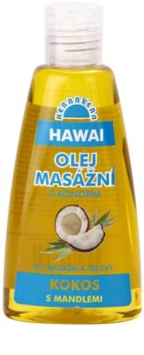 Herbavera Body masážny a telový olej Hawai 2v1
