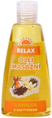 Herbavera Body entspannendes Massageöl