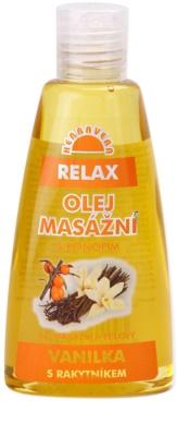 Herbavera Body masážní a tělový olej Relax 2 v 1