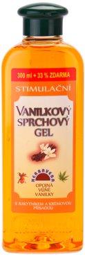 Herbavera Body Wash Care vanilkový stimulačný sprchový gél