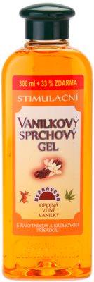 Herbavera Body Wash Care стимулюючий гель для душу з екстрактом ванілі