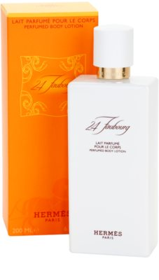 Hermès 24 Faubourg leche corporal para mujer 1