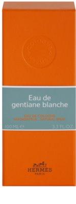 Hermès Eau de Gentiane Blanche kolínská voda unisex 4