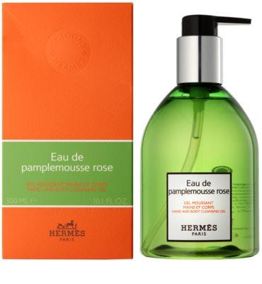 Hermès Eau de Pamplemousse Rose żel pod prysznic unisex