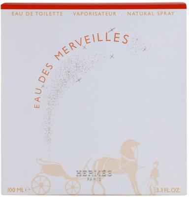 Hermès Eau des Merveilles Eau de Toilette para mulheres 1