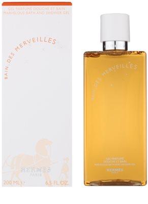 Hermès Eau des Merveilles gel de dus pentru femei