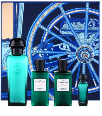 Hermès Eau d'Orange Verte coffret presente