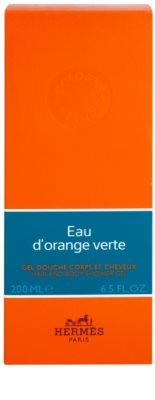 Hermès Eau d'Orange Verte душ гел унисекс  за коса и тяло 1
