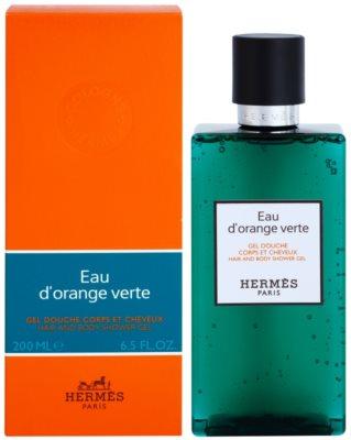 Hermès Eau d'Orange Verte gel de ducha unisex  para cabello y cuerpo