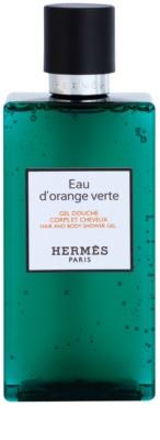 Hermès Eau d'Orange Verte żel pod prysznic unisex  włosów i ciała 2