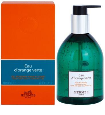Hermès Eau d'Orange Verte gel de duche unissexo  para mãos e corpo