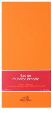 Hermès Eau de Rhubarbe Écarlate Eau de Cologne unisex 1