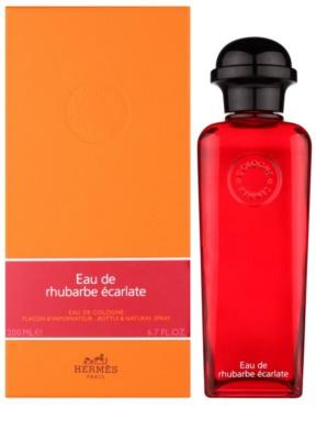 Hermès Eau de Rhubarbe Écarlate kolínská voda unisex