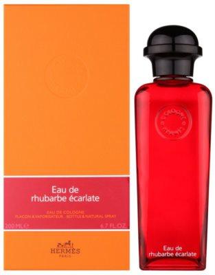 Hermès Eau de Rhubarbe Écarlate kölnivíz unisex