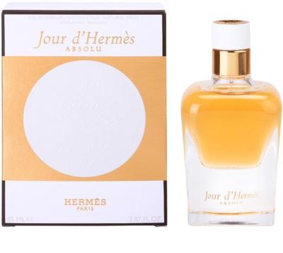 Hermès Jour d'Hermes Absolu Eau De Parfum pentru femei  reincarcabil
