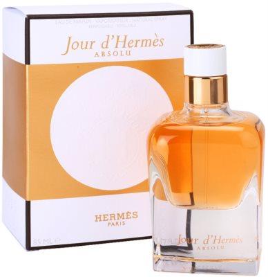 Hermès Jour d'Hermes Absolu parfémovaná voda pre ženy  plniteľná 1