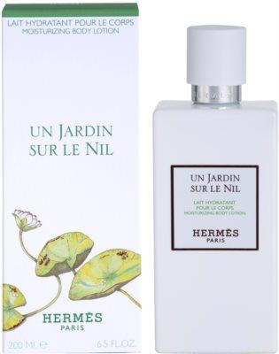 Hermès Un Jardin Sur Le Nil tělové mléko unisex