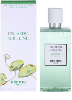 Hermès Un Jardin Sur Le Nil sprchový gel unisex