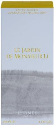 Hermès Le Jardin De Monsieur Li Eau de Toilette unisex 4