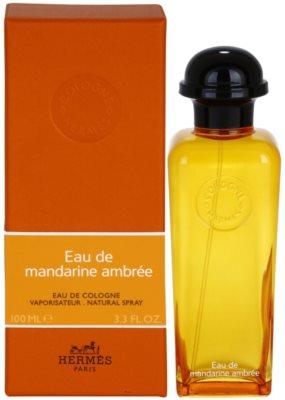 Hermès Eau de Mandarine Ambrée одеколон унисекс