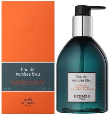 Hermès Eau de Narcisse Bleu gel de ducha unisex