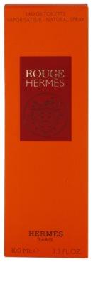 Hermès Rouge Hermes Eau de Toilette para mulheres 4
